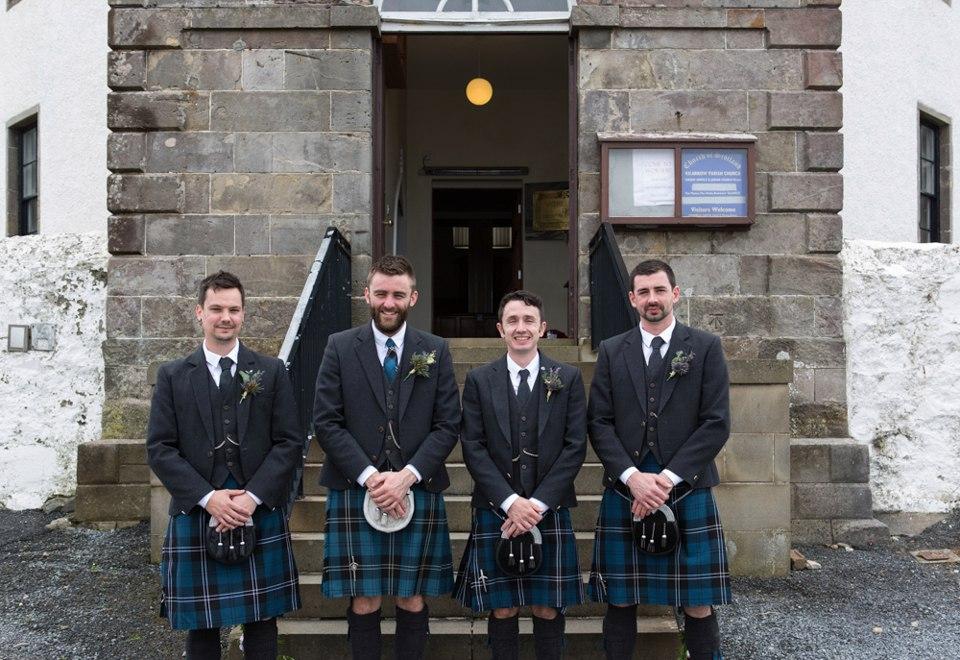 cE7ufLMXkdE - Настоящая шотландская свадьба на острове (150 фото)