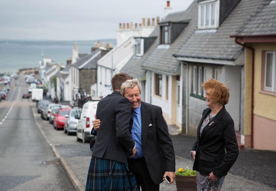ae05URYlD8I - Настоящая шотландская свадьба на острове (150 фото)