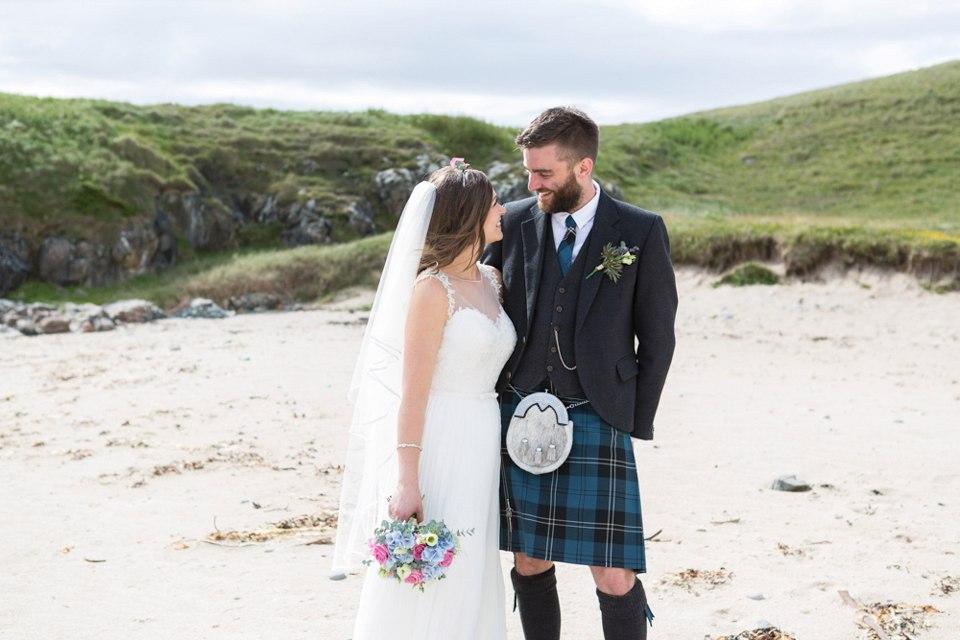 Настоящая шотландская свадьба на острове (150 фото)