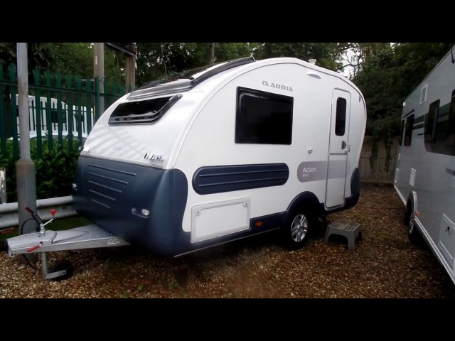 2018 Adria Action 361 LT caravan walk through by Venture Caravans