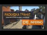 Раскидка гранат и секреты на карте de_inferno  Raskida grenades and secrets on de_inferno
