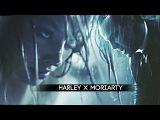 BEGIN AGAIN.  jim moriarty + harley quinn