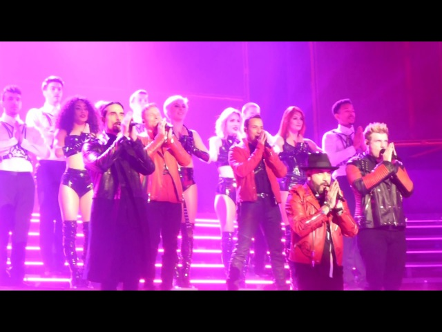 Backstreet Boys Las Vegas - 3/1/17: We've Got It Going On