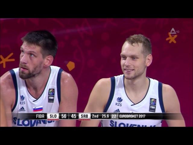 MVP Goran Dragić Slovenia Serbia 35pts 7reb 3ast sick