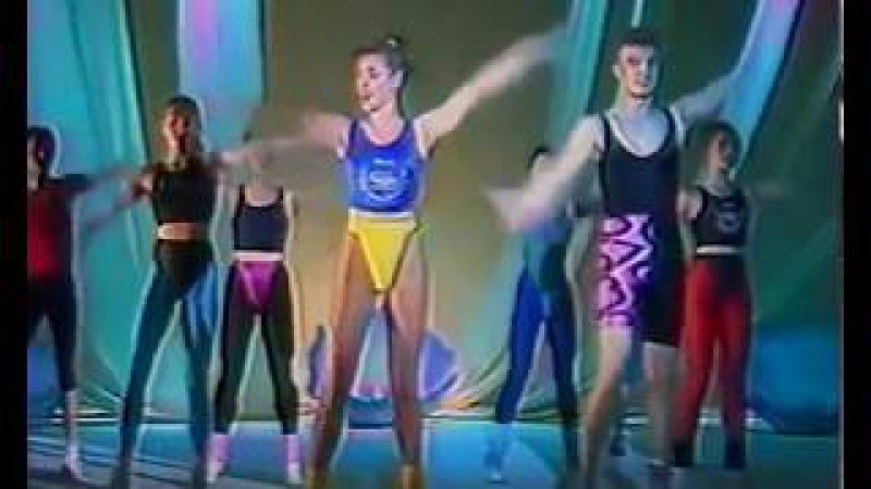 Ритмическая гимнастика. Светлана Рожнова и Олег Кныш.
