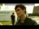Interview with Eric Saade before Allsang På Grensen