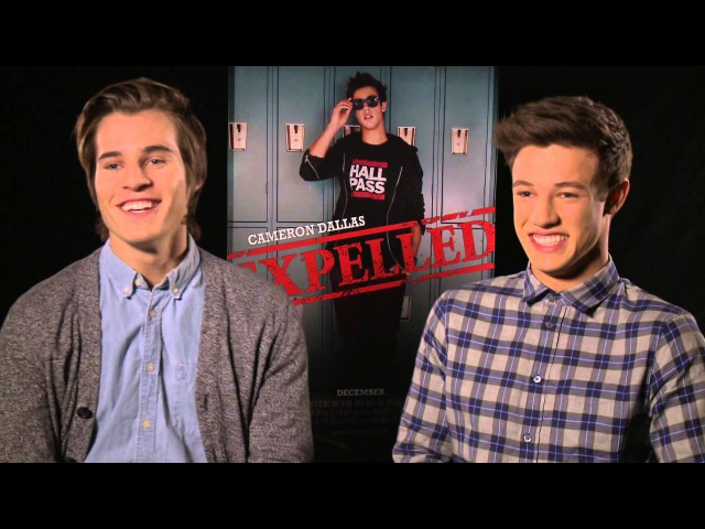 'Expelled' Interview with Cameron Dallas and Marcus Johns