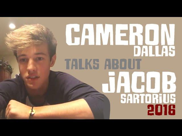 Cameron Dallas - Talks About Jacob Sartorius