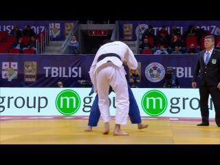 GP Tbilisi 2017, 73 kg, Repechage, Zhansay Smagulov(KAZ)-Sam Van T Westende(NED) vk.com/dzigoro_kano