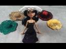 Вязание шляпы для Монстер Хай. Мастер-класс. Knitting hats for Monster High. MK.