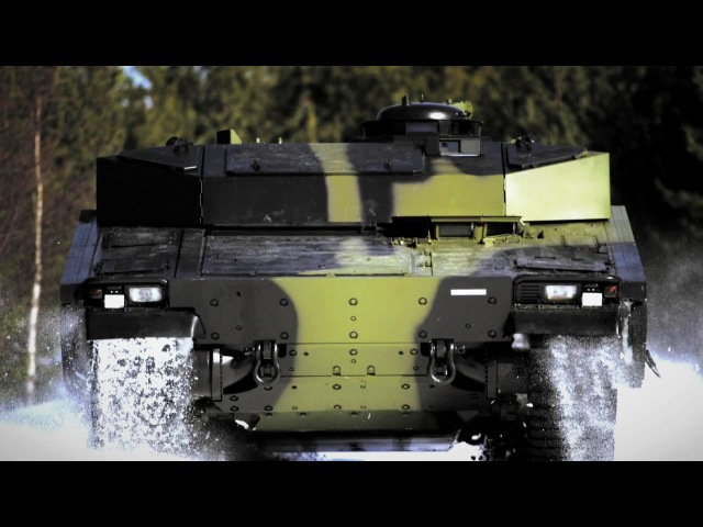 BAE Systems - CV90 Armadillo Armoured Personnel Carrier Delivered For Danish Army Trials [1080p]