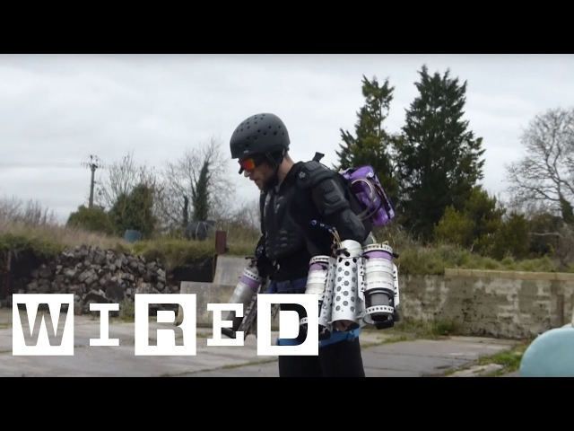 Richard Browning is a Real-life Iron Man - with His Own Flying Suit | WIRED