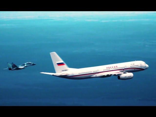 Самолет Президента (HD). Уникальные кадры. Фильм Аркадия Мамонтова