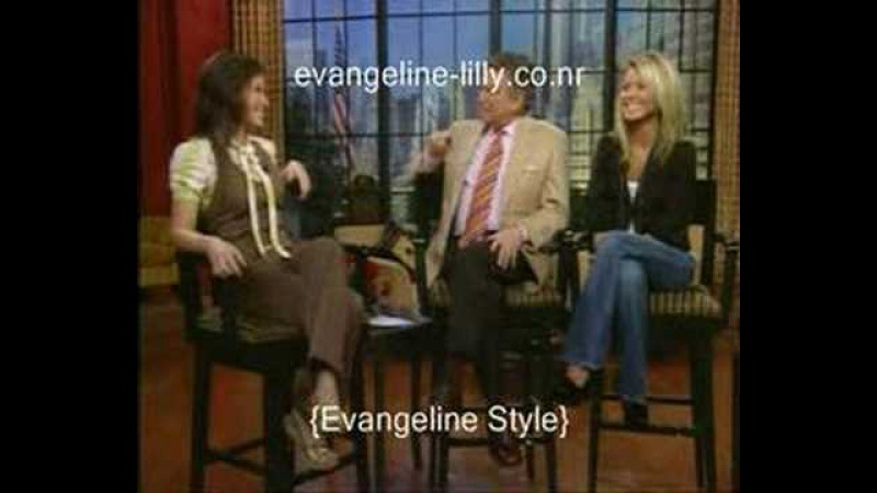 Evangeline Lilly - RegisKelley (11/01/06)
