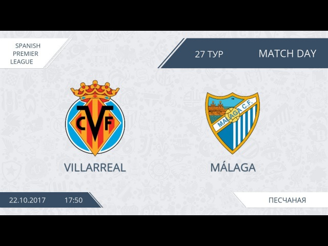AFL 17. Spain Premier League. Villarreal - Malaga. Day 27.