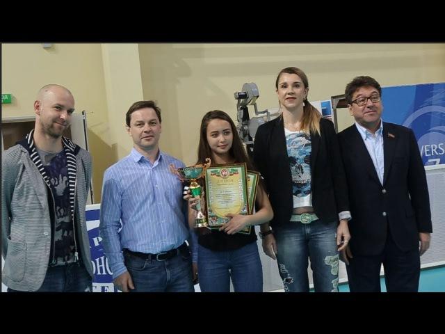 Игра по-взрослому. Школьный чемпионат по волейболу посетили игроки Динамо и Зе...