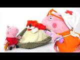 Свинка Пеппа новая серия! Герои мультфильмов:  игры с игрушками Peppa Pig. Папа Свин з...