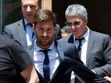 Отец Месси прибыл в Испанию.Озил может вернуться в Реал.Достижение Бензема.