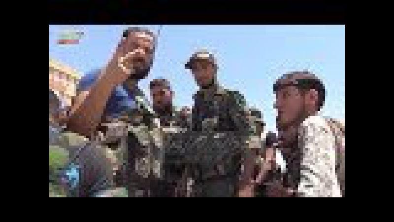 Guerra na Síria - Batalhão Liwa al-Quds na área de Salamiya. - 17.06.2017
