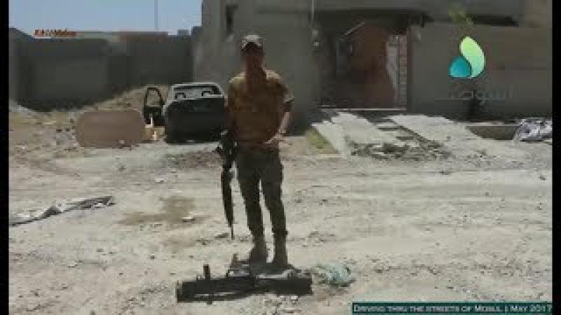 Guerra contra o ISIS no Iraque - Dirigindo pelas ruas de Mosul - Maio de 2017