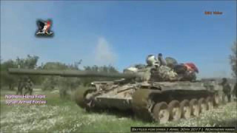 Guerra na Síria - Batalhas pelo Norte de Hama - Forças Tigre em ação! - 30.04.2017