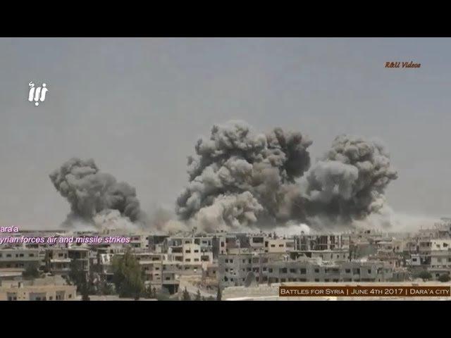 Guerra na Síria - Batalhas pela cidade de Daraa - 4.06.2017