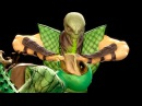 Mortal Kombat 9 - All Fatalities X-Rays on Green Reptile Costume Mod 4K Ultra HD Gameplay Mods