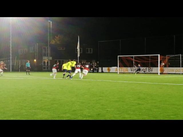 Koninklijke HFC vs OJC Rosmalen 21 09 2016 gol 1080p