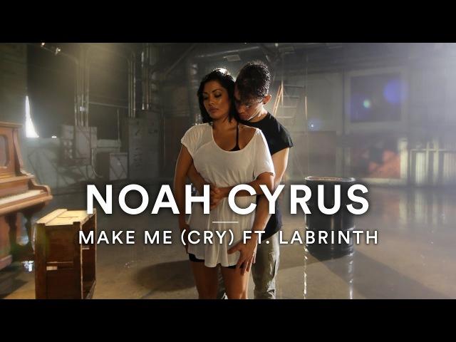 Noah Cyrus ft Labrinth Marshmello Remix Make Me Cry Dance Video