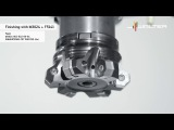 Walter BLAXX-Heptagon milling cutter M3024  with a new finishing insert - Walter Tools