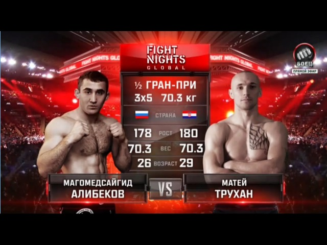 Магомедсайгид Алибеков vs Матей Трухан Magomedsaygid Alibekov vs Matej Trukhan