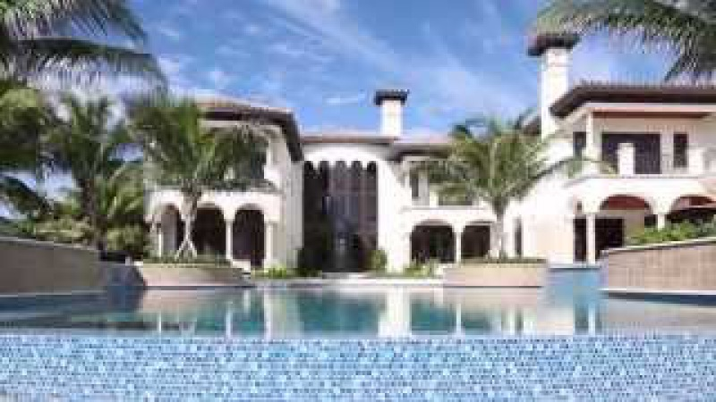 $18M ocean front Mansion in Vero Beach-Splendida Dimora