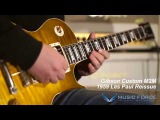 MusicForce Gibson Custom M2M 1959 Les Paul Reissue Demo