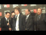 Social Network Kevin Spacey, Jesse Eisenberg, Andrew Garfield, Justin Timberlake in LA