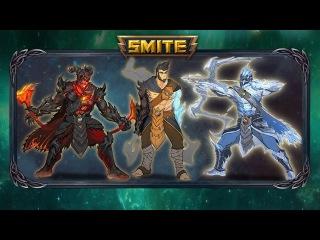 SMITE - Sneak Preview - Frostfire Ullr (Tier 5 Skin - Odyssey 2018)
