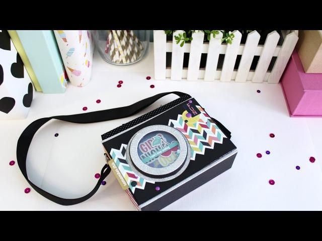 DT Scrapbumazhka/ МК Мини-альбом Фото-камера/ Коллекция Fun With Friends Photoplay