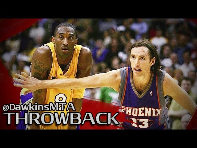 Kobe Bryant vs Steve Nash Full Duel in 2006 WCR1 Game 6 - Nash With 32,13 Ast, Kobe With 50 Pts!