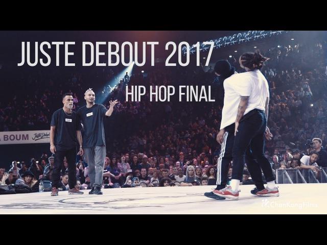 Juste Debout 2017 Finals Bercy | Ukay Majid vs Diablo Stylez C | Hip Hop Final | ChenKangFilms