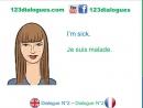 Dialogue 2 - English French Anglais Français - How are you - Comment vas-tu Comment ça va