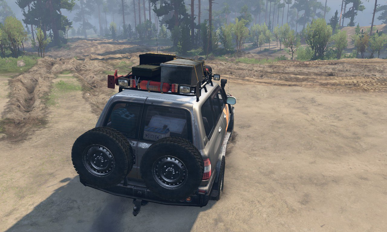 Toyota Land Cruiser 105 - Скриншот 2
