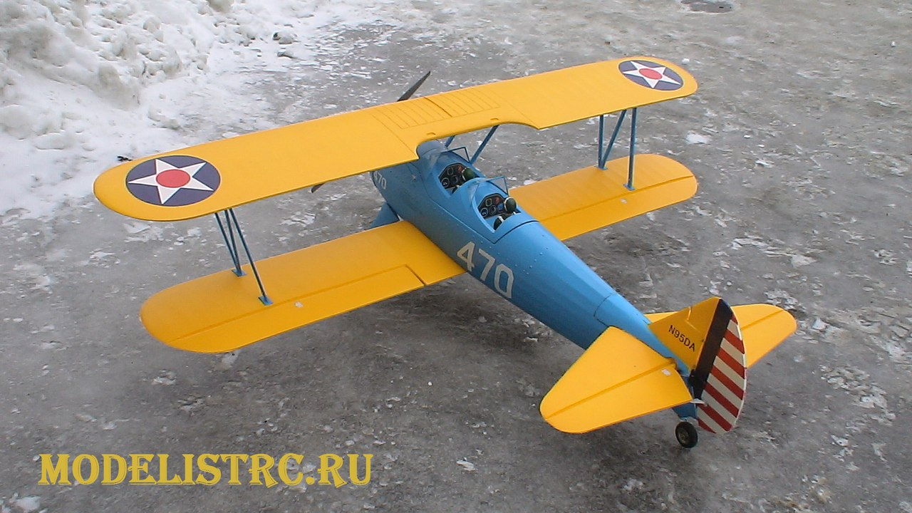 PT-17 stearman ModelistRC