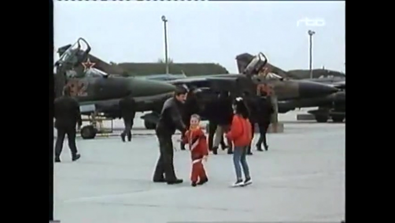 Документальный фильм о 833-м ИАП (аэродром Альтес-Лагер (ГДР))