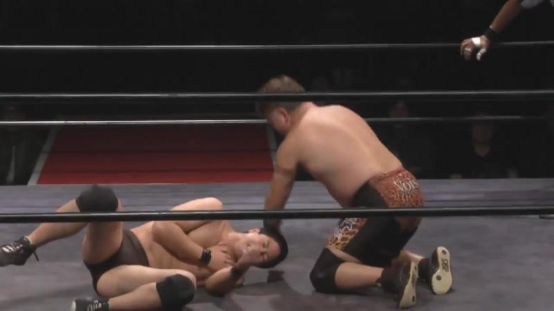 Kesen Numajiro vs. Koji Kawamura (Michinoku Pro - Shin-kiba Show Vol. 5 ~ Chokujo Keiko)