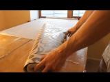 Оформление примыкания обоев к натяжному потолку