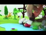 Машины сказки. Прогулка по лесу Насекомые для детей. Занятия по развитию речи кукольный театр