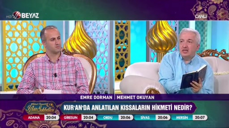 Mehmet Okuyan'la İftar Sohbetleri 8 Haziran