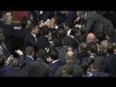 A fight in Rada with Yatsenyuk 11.12.2015