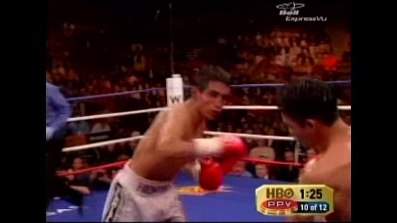 2006-01-21 Erik Morales vs Manny Pacquiao II