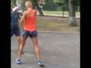 Моя утренняя тренировка по боксу!!🥊🔥😅