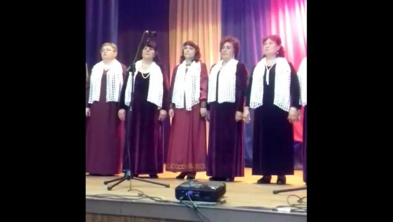 ДК Атаманово. Новокузнецк. Отчётный концерт ансамбляКалина красная